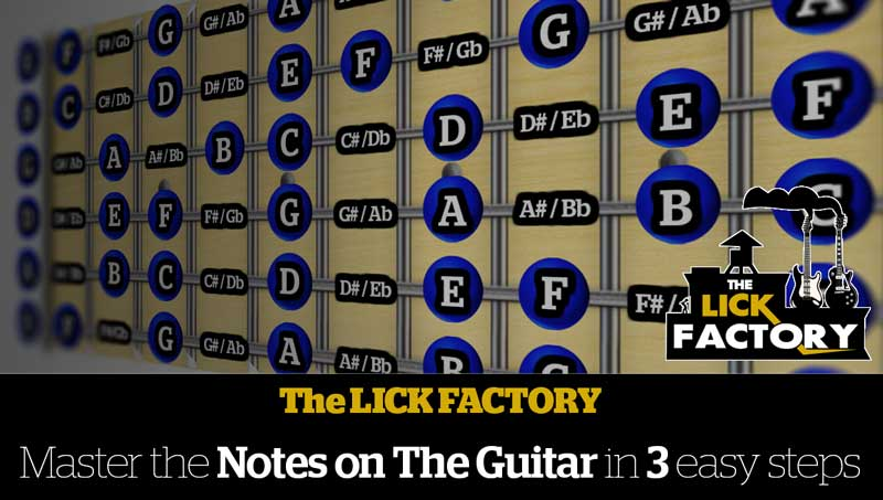 The Lick Factory | BLOG - Free Lessons & Other Cool stuff! m/