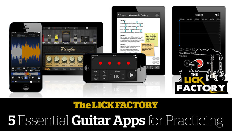 5 essential guitar apps for practicing the lick factory blog. Black Bedroom Furniture Sets. Home Design Ideas